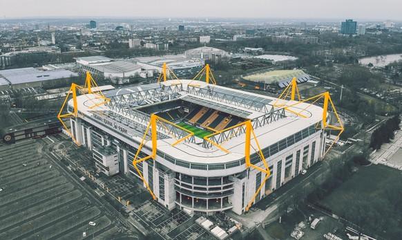 Stadium Stadion Dortmund Signal-Iduna-Park Borussia