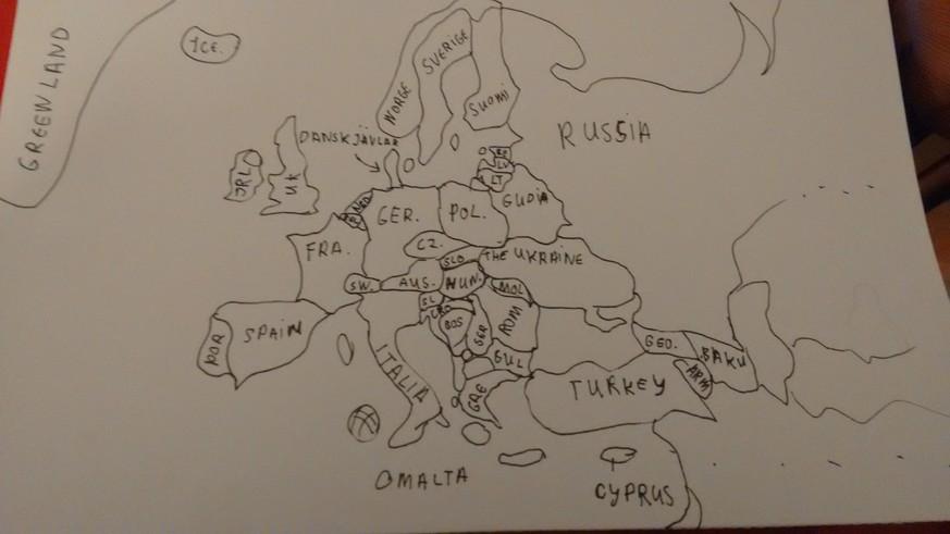 Kannst Du Aus Dem Kopf Eine Europa Karte Zeichnen Watson