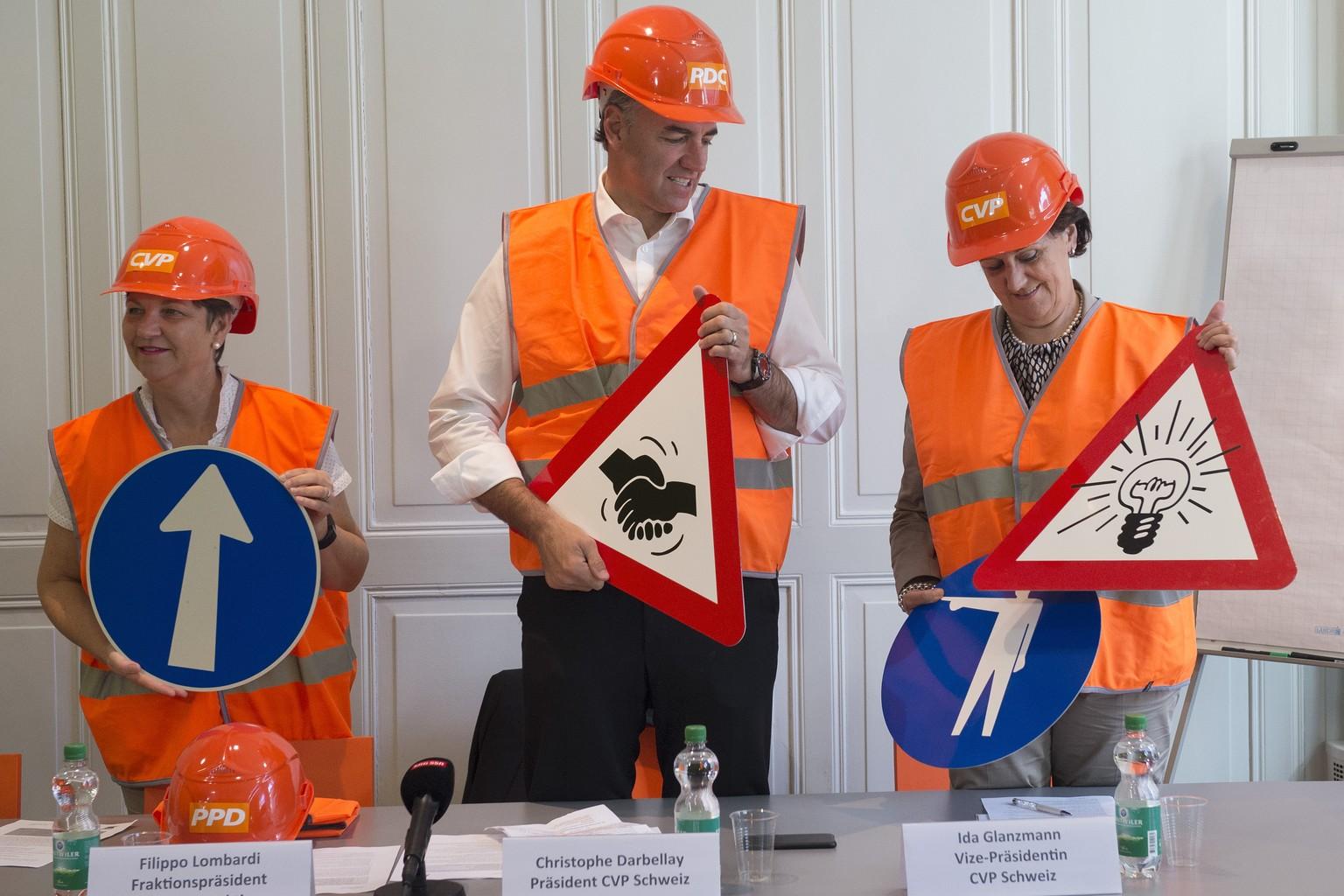 Baustelle Cvp Auf Den Neuen Prasidenten Wartet Viel Arbeit Watson