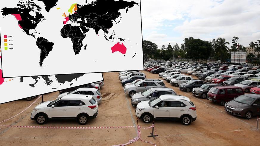 Verbot von Benzin- und Dieselfahrzeugen: Diese Länder machen Ernst