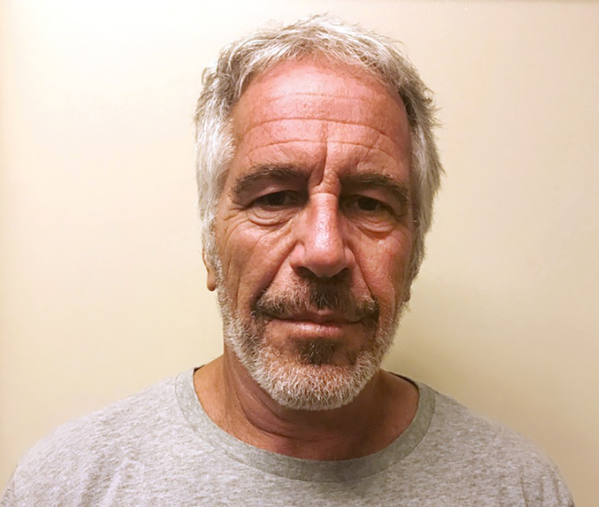 FILE - This March 28, 2017, file photo, provided by the New York State Sex Offender Registry shows Jeffrey Epstein.  A judge denied bail for jailed financier Jeffrey Epstein on sex trafficking charges Thursday, July 18, 2019, saying the danger to the community that would result if the jet-setting defendant was free formed the