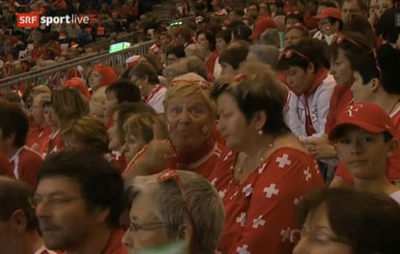 Schweiz Fan Davis Cup