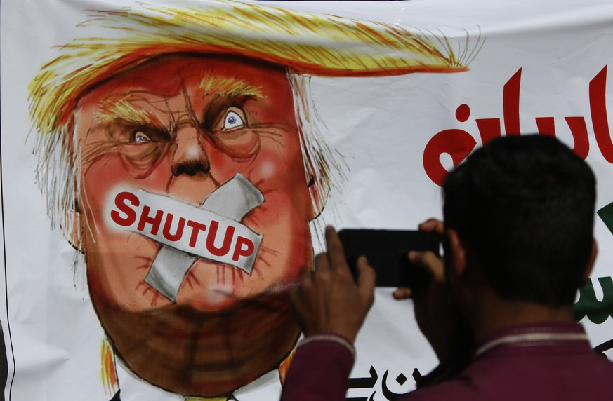 Trump attackiert Pakistan wegen mangelnder Hilfe gegen Terror