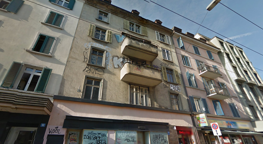 Exceptional Seit Bald Sieben Jahren Steht Das Haus An Der Langstrasse 95/97 Leer. Der  Fassade Sieht Man Nicht An, Dass Es Millionen Wert Ist. Bild: Google  Streetview