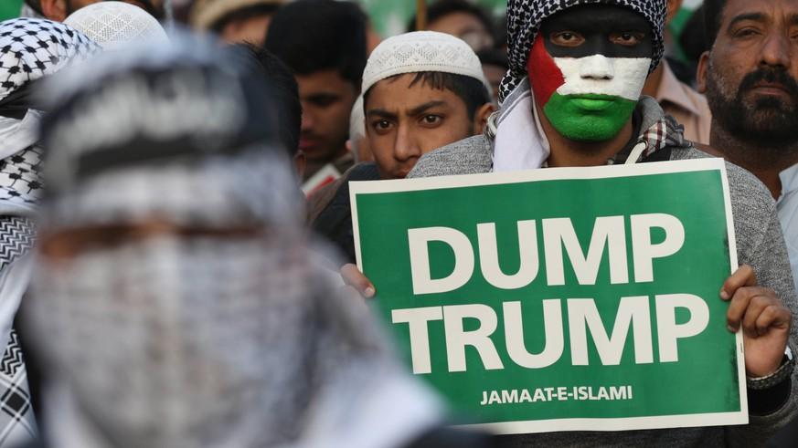 Abbas wettert über Trumps Nahost-Politik: