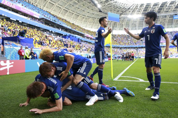Russia Soccer WCup Colombia Japan