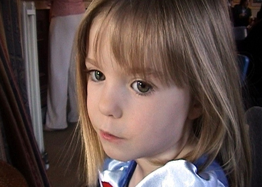 FILE -  This March 2007 file photo released by the McCann family Friday, May 4, 2007, shows 3-year-old British girl Madeleine McCann.  London's Metropolitan Police said Wednesday April 25, 2012 say it's possible missing girl Madeleine McCann is alive and they will release a new image of the girl, who went missing on a family vacation in the Algarve coast in Portugal in May 2007.   (AP Photo/McCann Family, File)