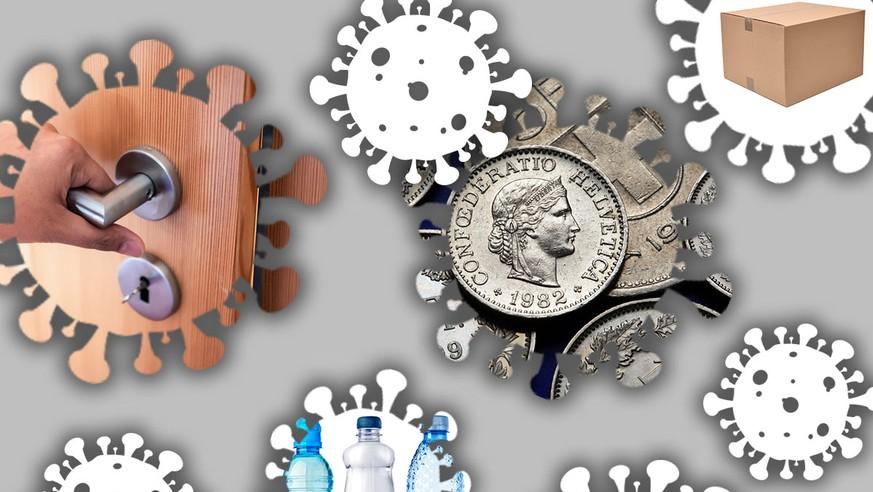 Wie lange können Coronaviren auf Münz, Türklinken und Co überleben? Schätze jetzt im Quiz!