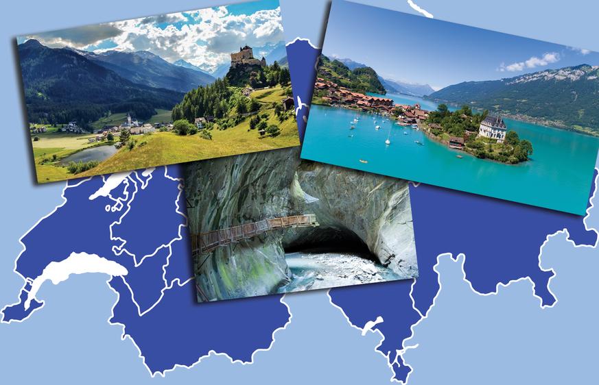 Schweizer Reise: Die schönsten Orte, die nicht jeder kennt