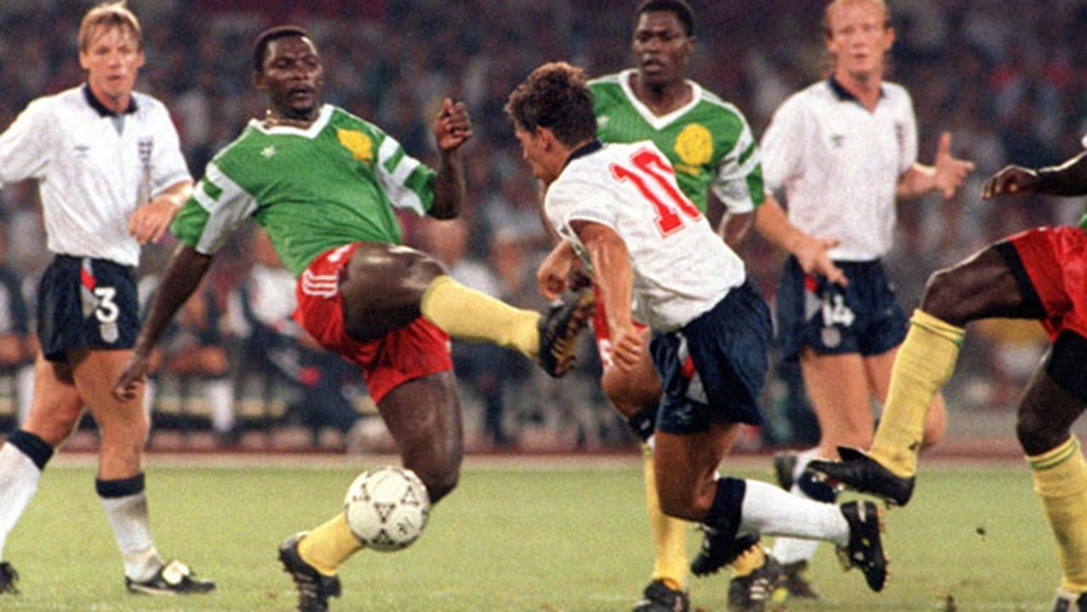 England Traumt 1990 Nach Viertelfinal Sieg Gegen Kamerun Vom