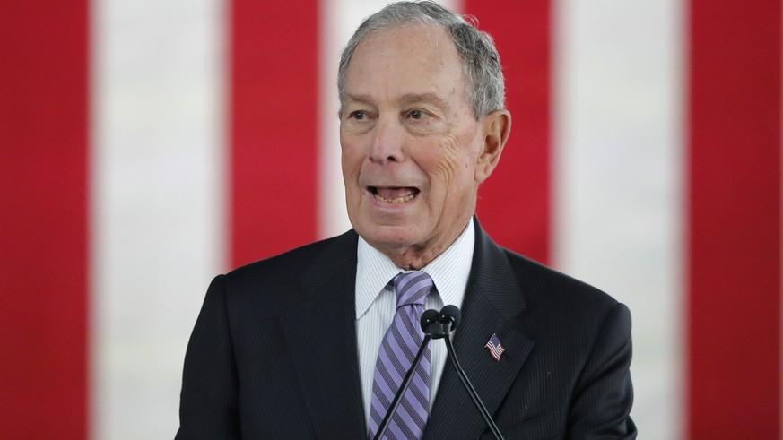 Michael «Mini Mike» Bloomberg nimmt in Nevada erstmals an Demokraten-Debatte teil