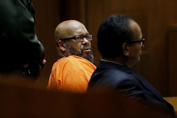 Hip-Hop-Produzent Suge Knight umgeht Mordprozess - Show-Biz