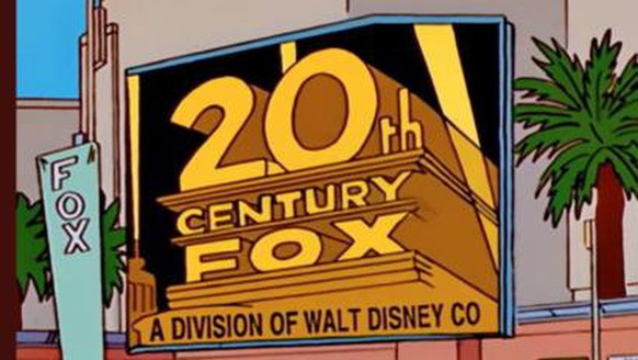 Die Simpsons 20th Century Fox Disney