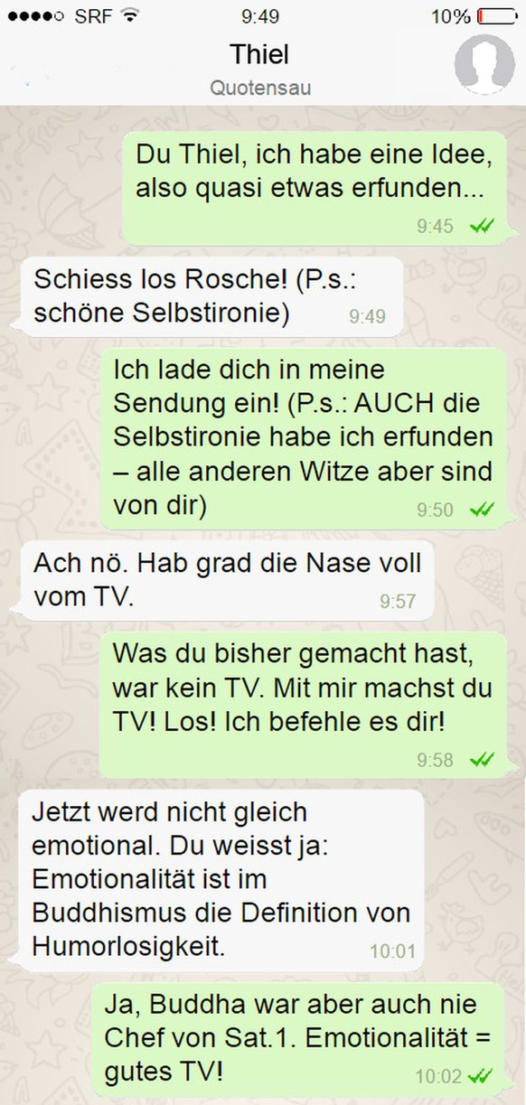 Whatsapp skandal