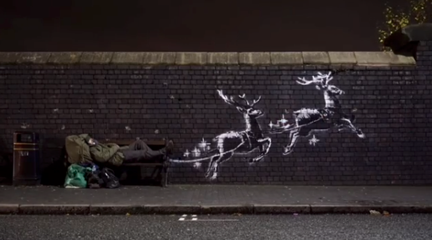 Neues Banksy-Graffito in Birmingham