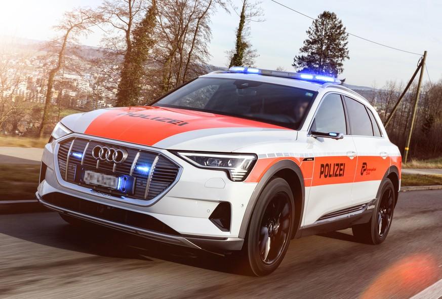 Zürcher Polizei testet Elektroboliden – aber nicht von Tesla