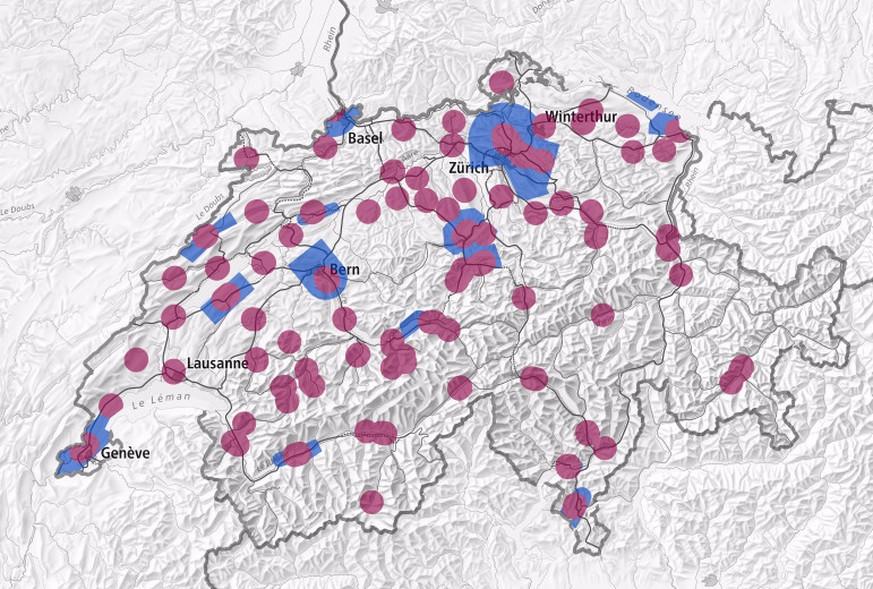 drohnen karte Eine neue interaktive Karte zeigt, wo du mit deiner Drohne