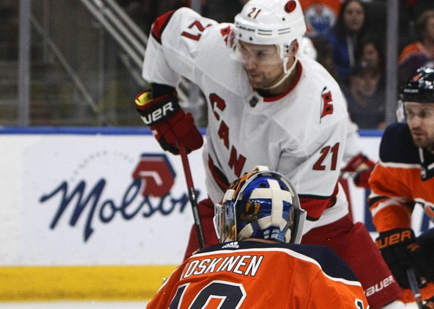 NHL: Nino Niederreiter mit Tor und Assist, Timo Meier trifft ebenfalls