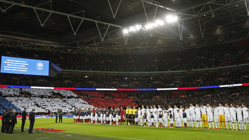 Football - England v France - International Friendly - Wembley Stadium, London, England - 17/11/15