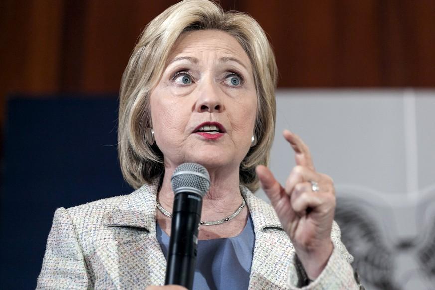 Hillary Clinton Politische Ziele