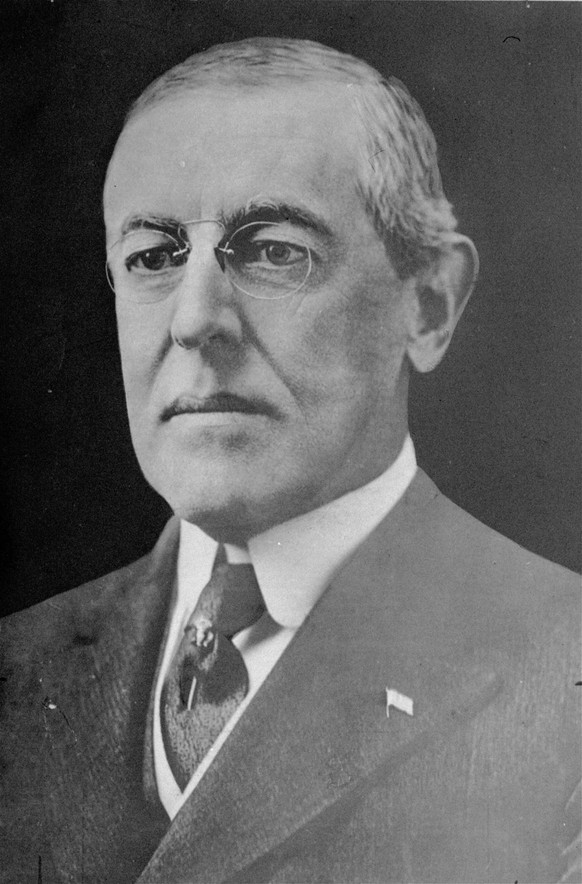 President Woodrow Wilson, the 28th U.S. President, is shown in an undated file photo. President Barack Obama won the 2009 Nobel Peace Prize Friday Oct. 9, 2009. The stunning choice made Obama the third sitting U.S. president to win the Nobel Peace Prize. Theodore Roosevelt won the award in 1906 and Woodrow Wilson won in 1919.  (AP Photo)