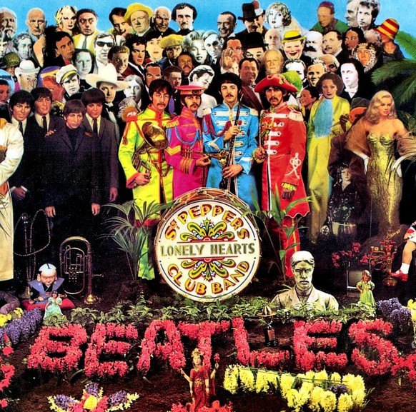 Sgt. Pepper's Lonely Hearts Club Band Cover Plattenhülle Beatles