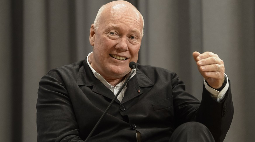 Jean-Claude Biver, Chairman Hublot, speaks during a panel session of the Open Forum on the sideline of the 44th Annual Meeting of the World Economic Forum, WEF, in Davos, Switzerland, Friday, January 24, 2014. The overarching theme of the Meeting, which will take place from 22 to 25 January, is