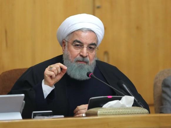 """Der iranische Präsident Ruhani will """"strategische Differenzen"""" mit den Hardlinern durch ein Referendum klären. (Archivbild)"""
