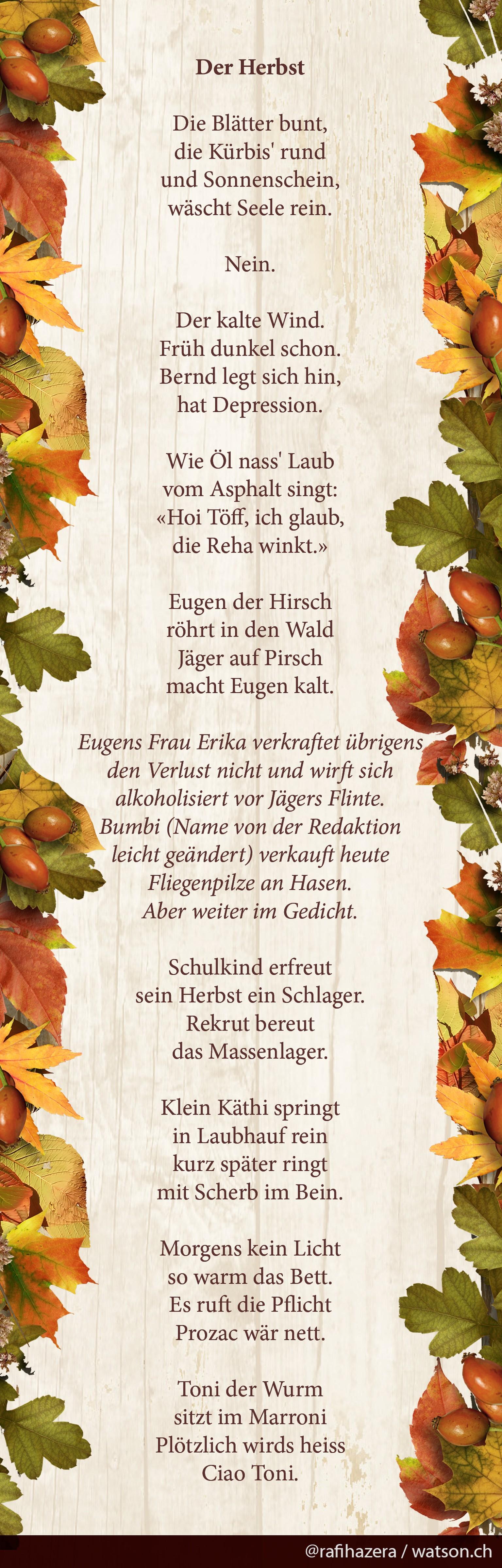 Gedicht Herbst Kurz Kurze Sommergedichte Und Sprüche über