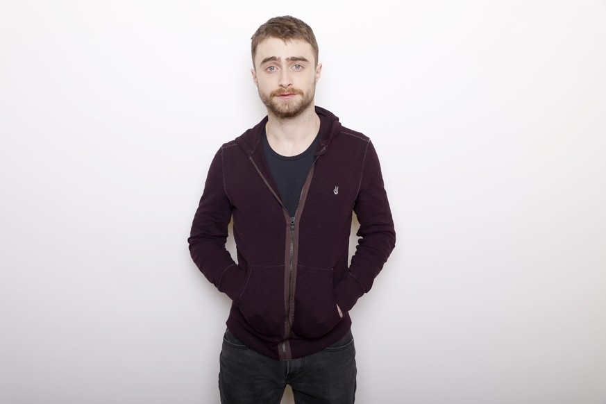FILE - In this Jan. 23, 2016 file photo, actor Daniel Radcliffe poses for a portrait to promote the series,