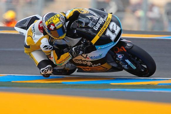 Le Mans, 15.5.2015, Motorrad, Grand Prix Frankreich, Moto2, Tom Luethi - Derendinger Racing Interwetten. (Luciano Bianchetto/Semedia/EQ Images) SWITZERLAND ONLY