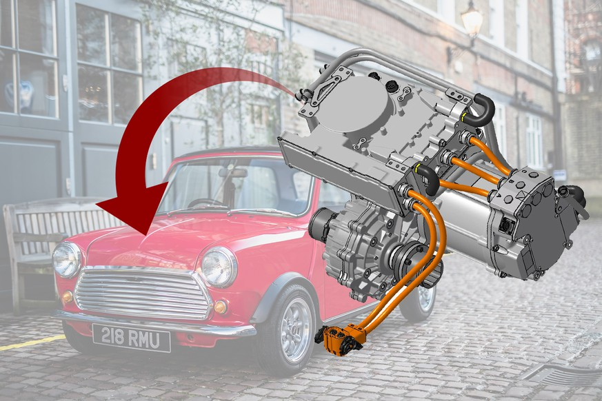 mini ev antrieb auto elektroauto tesla vintage retro swindon powertrain swind E https://swindonpowertrain.com/uk/news.aspx https://swind.life/