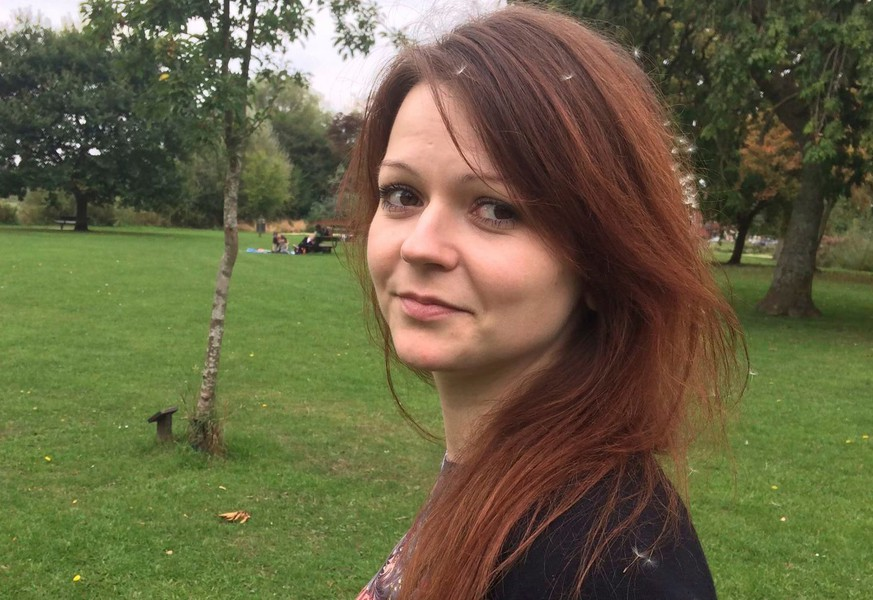 FILE - This is a file image of the daughter of former Russian Spy Sergei Skripal, Yulia Skripal taken from Yulia Skipal's Facebook account on Tuesday March 6, 2018. British health officials say the daughter of a Russian ex-spy has responded well to treatment and is no longer in critical condition after a nerve-agent attack, it was reported on Thursday, March 29, 2018. (Yulia Skripal/Facebook via AP, File)