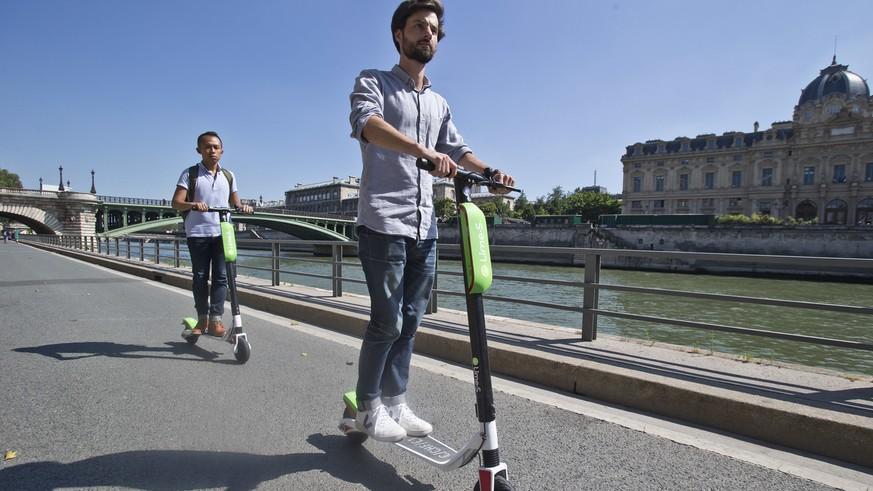 Das ausleihbare Elektro-Trottinett erobert Zürich.