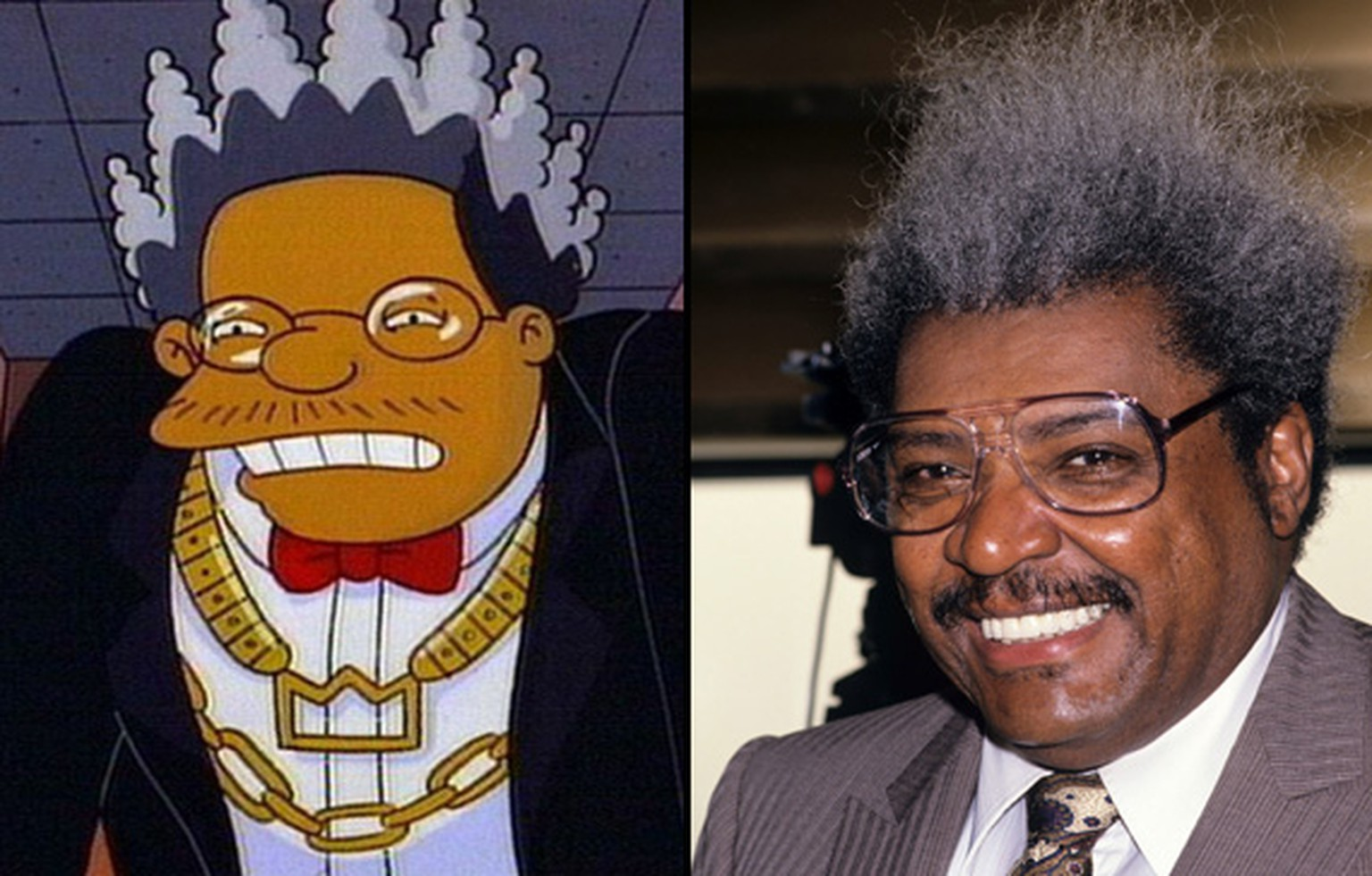 don King Simpsons