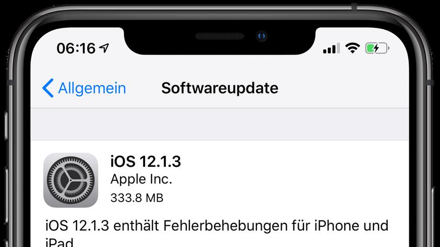 Falls nicht schon getan, solltest du JETZT dein iPhone und iPad updaten