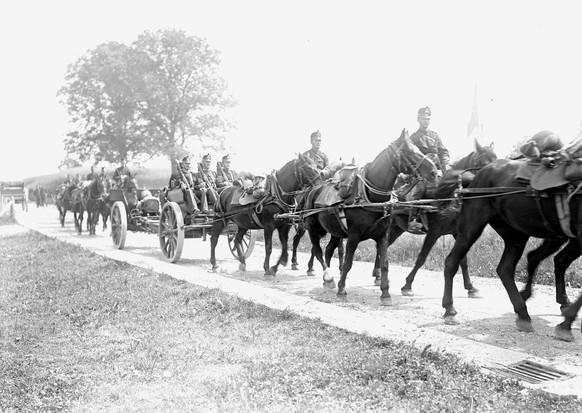 Erster Weltkrieg Schweizer Armee