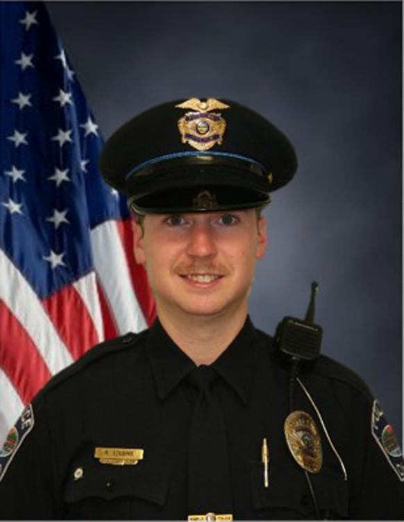 Officer Ray Tensing, of the University of Cincinnati police department, is shown in this Greenhills Police Department photo released on July 29, 2015. Tensing, who fatally shot an unarmed black man has been charged with murder after a grand jury probe, the Hamilton County prosecutor said on July 29, 2015. Prosecutor Joseph Deters called the July 19 shooting of Samuel Dubose, 43,