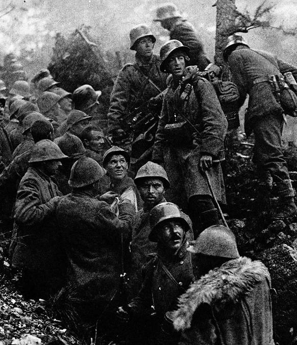 erster weltkrieg karfreit isonzo-schlacht (wikipedia/pd)