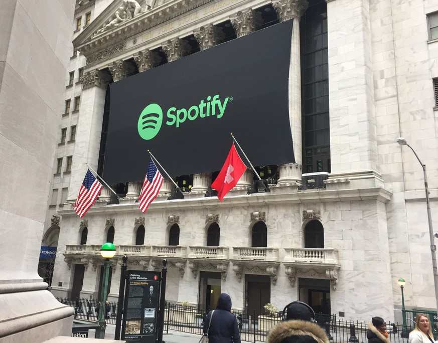 Spotify Karte Kaufen Schweiz.Spotify Geht An Die Borse Und Wall Street Hisst Die