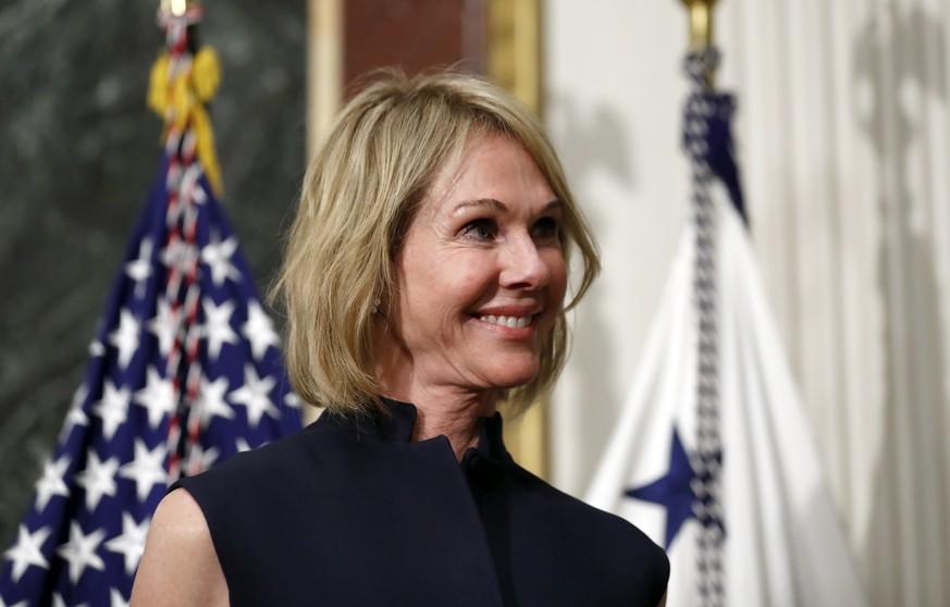Kelly Craft: Trump macht Großspenderin zu Chefdiplomatin bei den UN
