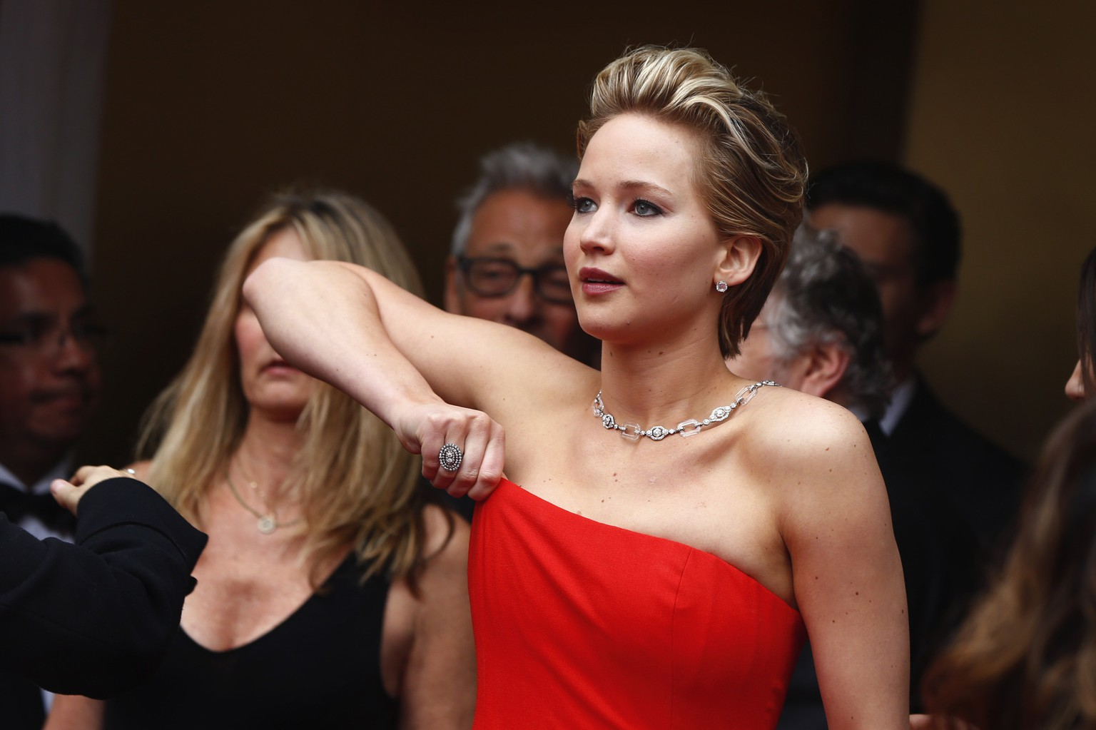 Jennifer Lawrence, best supporting actress nominee for her role in