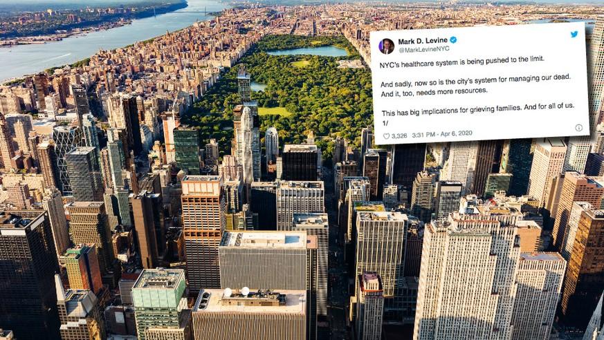 Stadtrat schlägt Alarm: In New York müssen Leichen bald in Parks vergraben werden