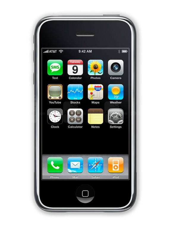Das iPhone 2007 (Ur-iPhone)