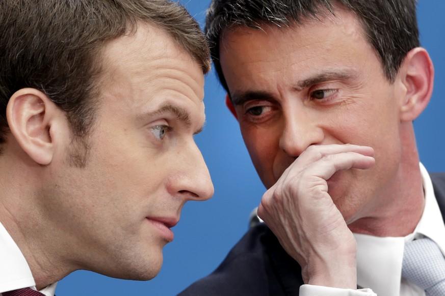 Macron-Partei: Valls erfüllt Bedingungen für Kandidatur noch nicht