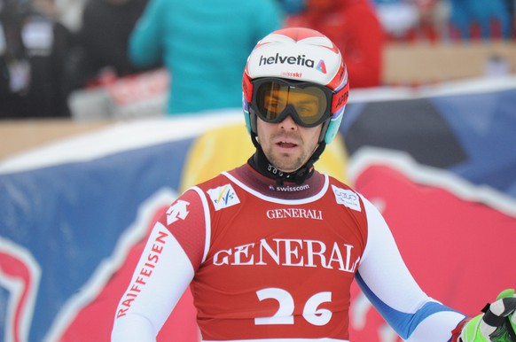 23.01.2015; Kitzbuehel; Ski Alpin -  Super-Kombination  Maenner; Sandro Viletta (SUI) (Erich Spiess/Expa/freshfocus)