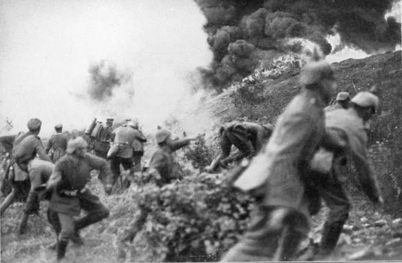 Erster Weltkrieg Verdun Westfront 1916 (PD)