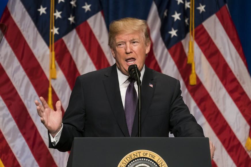 Trump bezeichnet Russland und China als