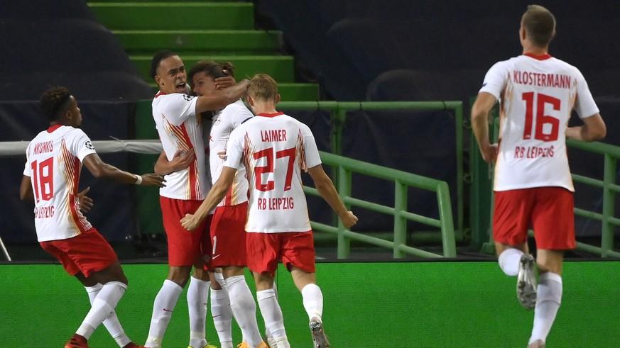 Champions League: RB Leipzig gegen Atlético Madrid im Liveticker
