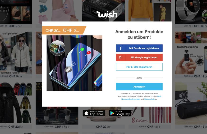 Kaufen Bei Wish